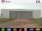 Bajo coste de estructura de acero de sección H hangar de aviones en el Níger