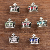 Uitstekende Juwelen van de Delen van de Parels van de Componenten van de Toebehoren van de Armbanden van de Kroon DIY de Zilveren