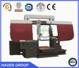 Máquina de Sawing dobro horizontal da fita de aço da coluna GB4280