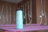 Bottiglia di acqua a parete semplice di sport esterni dell'acciaio inossidabile