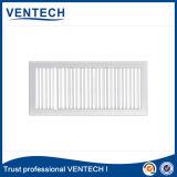 Grelha de ar na parede de cor anodizada para uso de ventilação