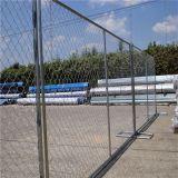 Крестообразный раскос 11 Ga 50мм*50мм звено цепи ширины междурядий 6 футов x 12 фута строительство ограждения