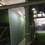 人工的な草の結婚式の店のオフィスの記憶装置のレストランのホテルのホームのための縦の庭の緑の壁を美化する20mmの高さ18900の密度Leou10の紫外線保護