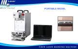 Máquina portable de la marca del laser de la fibra de Holylaser