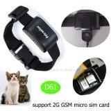 Mascotas rastreador de GPS con Impermeable IP67 (D61).