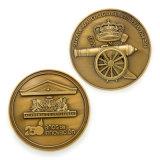 Prêmio de futebol de esmalte de disco rígido personalizadas placas tipo moeda toque de retorno os Religiosos