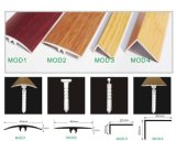Profilés en bois à motifs usés pour tous les revêtements d'épaisseur
