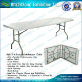Exposition portative Table pliante en plastique (M-NF18F05101)