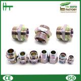 1cm/1dm-Wd Metirc Mann 24 Grad-Kegel/metrischer sichernder Dichtungs-Adapter von der hydraulischen passenden Fabrik