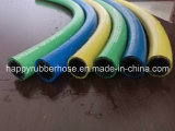 ファイバーファブリック織物のブレードの高圧石油燃料のホース