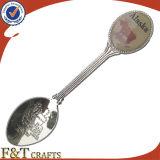 Cucchiaio su ordinazione del ricordo del metallo dei regali di marchio di promozione (FTSS2909A)