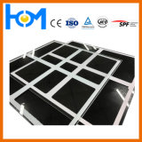 vidro solar da impressão da tela da espessura de 2.0mm
