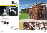 박판으로 만들어진 유리 지붕을%s 가진 건강한 증거 알루미늄 일광실