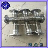 Aço inoxidável trançado flexível de borracha de metal do conector flexível