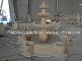Bello sulla vendita della fontana di marmo intagliata mano (SY-F119)