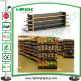 Supermarkt-hölzernes Stahlhandelsracking
