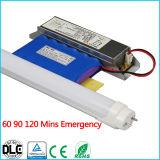 내부 배터리 백업 T8 LED 관 비상사태에 Grg 긴급 T8 9W 재충전용 LED 가벼운 램프