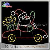 свет рождества Santa Claus высоты 2m/1.5m новый напольный большой