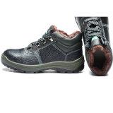 Sapatas de segurança de aço do trabalhador industrial do dedo do pé