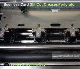 Coupeur de découpeuse de carte de nom d'entreprise de Creaser de perforateur de coupure de Gémeaux de Namecard d'alimentation manuelle de main de papier de chrome d'A4 A3