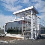 White puro Aluminum Cladding per Building Decoration