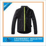100% poliéster venta caliente de la chaqueta de ciclismo Hombres