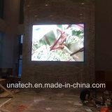 Het binnen LEIDENE van de Vertoning van de Media van de Reclame van het Metaal/van het Aluminium van de Kleur van Hoge Resoluties P2.5 SMD Volledige Scherm