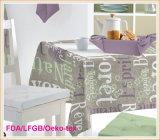 Afgedrukt Tafelkleed met Niet-geweven Steun (tj0009-a)