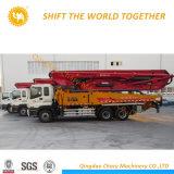 29m 트럭에 의하여 거치되는 구체적인 붐 펌프 트럭