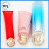Tube en plastique cosmétique de empaquetage de vente chaud d'épierreuse faciale