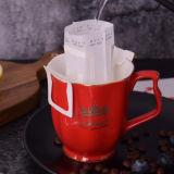 10 Kop van de Koffie van het Porselein van de Luxe van de Mok van de Koffie van de Kleur van oz de Gouden Europese Ceramische