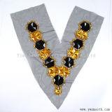 도매 아크릴 모조 다이아몬드 구슬 고리 털실 직물 의복 부속품