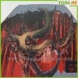 Stampa decorativa di disegno della decalcomania del pavimento della stanza dei capretti