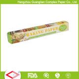 Carta pergamena non candeggiata antiaderante di larghezza di 15 pollici Rolls per cottura dell'alimento