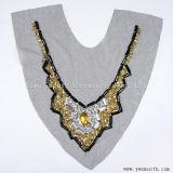 Acrílico mayorista Collar de cordón de Estrás tejido de hilo de accesorios de prendas de vestir