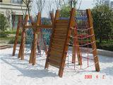 De woon Openlucht In het groot Speelplaats van het Ontwerp van de Dia van de Speelplaats (YL72455)