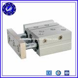 Cilindro pneumatico dell'aria del compatto del Rod di guida della trasparenza delle tre aste cilindriche