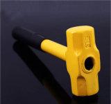 Fabbrica del martello dell'ottagono della slitta della maniglia del tubo d'acciaio con la maniglia d'acciaio