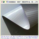 デジタル印刷のための白または灰色か黒い背部PVC旗ファブリック