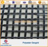 Полиэфирная пленка с покрытием из ПВХ Geogrid для дорожного узла окантовки