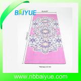L'impression en caoutchouc en daim Tapis de Yoga