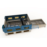 preço da máquina de estaca do metal do laser da fibra do CNC de 500W 1000W