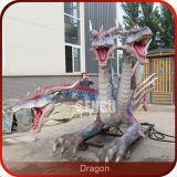 Estátuas tamanhos real do dragão das decorações chinesas do dragão