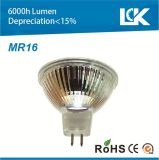 bulbo de la luz LED del punto de 4.5W MR16