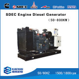 ATSとの9kVA-300kVA Portable Mobile Trailer Diesel Generators