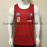 Custom sublimé Sports Tank Top singulet