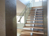Aluminum Channel를 가진 Tempered Clear Glass Railing