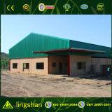 Construcción del taller de /Building/ del almacén de la estructura de acero de Refab