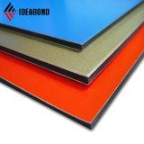 1500*5000mm precio de fábrica azul fresco Panel exterior de aluminio PVDF