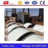 Вертикальный скрепленный болтами Flaked тип силосохранилище цемента пепла 150t